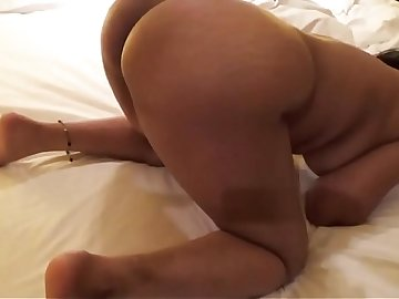 Desi Wife Blowjob and Doggy Fucking