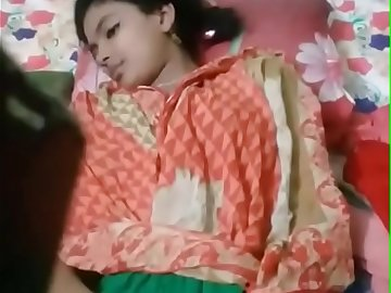 Beautiful young Bengali girl exposing her untouched virgin pussy